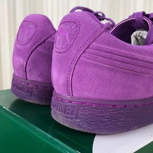 07dd7317aec Puma Shoes - Puma Men s Suede Emboss Iced Fluo in Purple 12